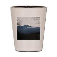 Smoky Mountains Shot Glass