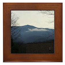 Smoky Mountains Framed Tile