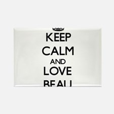 Keep Calm and Love Beau Magnets