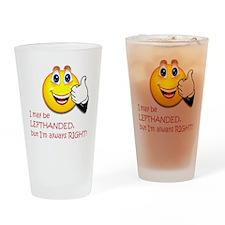 10 x 10 LeftOn2 Drinking Glass