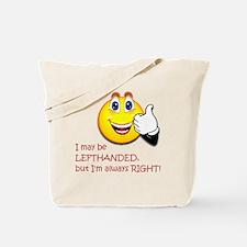 10 x 10 LeftOn2 Tote Bag