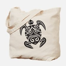 Tribal Sea Turtle Tote Bag