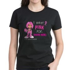 Personalized Breast Cancer Custom Tee