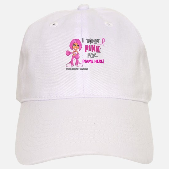 Personalized Breast Cancer Custom Baseball Baseball Cap