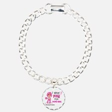 Personalized Breast Cancer Custom Bracelet