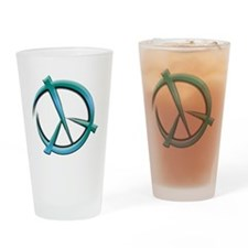 peace-art Drinking Glass
