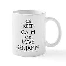 Keep Calm and Love Benjamin Mugs