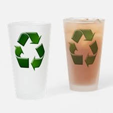 Recycle Drinking Glass