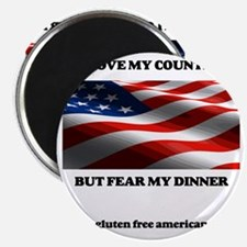 gf american shirt Magnet