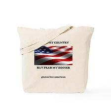 gf american shirt Tote Bag