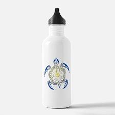 Sea Turtle Art Water Bottle
