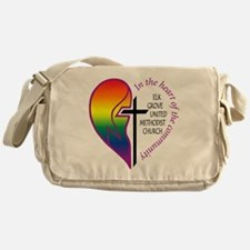 EGUMC logo rainbow2 Messenger Bag