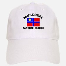 Muscogee Native Blood Baseball Baseball Cap