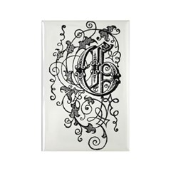 Letter G Rectangle Magnet (100 pack)