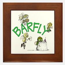 Barfly group Framed Tile