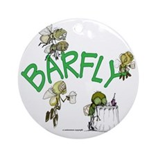 Barfly group Round Ornament