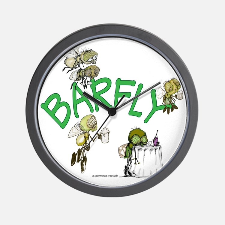 Barfly group Wall Clock