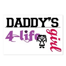 daddy's girl 4 life Postcards (Package of 8)