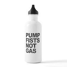 Pump Fists Not Gas Water Bottle