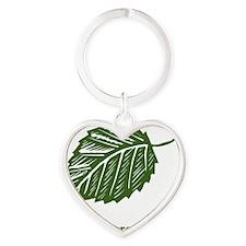 be green Heart Keychain