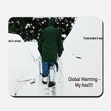 Global Warming 2009 Mousepad