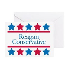 Reagan Conservative Greeting Card