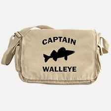 CAPTAIN WALLEYE CENTERED Messenger Bag