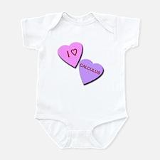 I Heart Calculus Infant Bodysuit