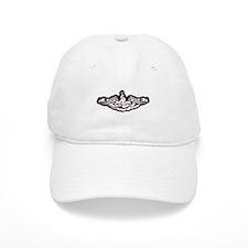 eallen ssbn white letters Baseball Cap