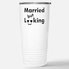 shirt-married-looking Travel Mug