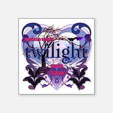 "twilight vegetarian vampire Square Sticker 3"" x 3"""