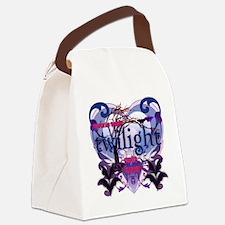 twilight vegetarian vampire copy Canvas Lunch Bag