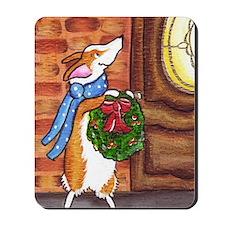 welcome christmas Mousepad