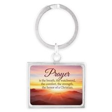 Prayer  Landscape Keychain