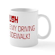 Polish Driving Style Bumper Sticker Mug