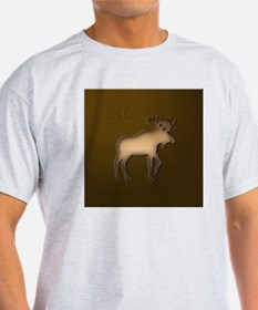 WoodenMooseCopperSquare T-Shirt