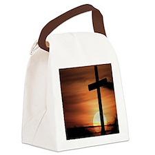Sunset Cross Canvas Lunch Bag