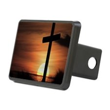Sunset Cross Hitch Cover