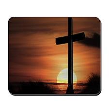 Sunset Cross Mousepad