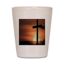 Sunset Cross Shot Glass