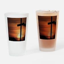 Sunset Cross Drinking Glass