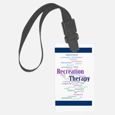 Rec funky 2 poster Luggage Tag