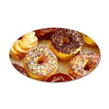 Assorted delicious donuts Wall Decal