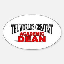 """The World's Greatest Academic Dean"" Decal"