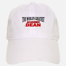 """The World's Greatest Academic Dean"" Baseball Baseball Cap"