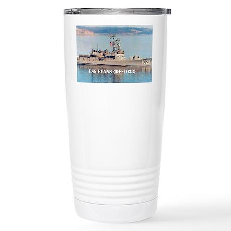 evans large poster Stainless Steel Travel Mug