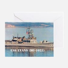 evans large poster Greeting Card