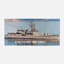 evans large poster Beach Towel