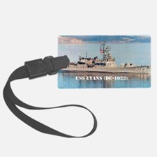evans large poster Luggage Tag