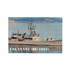 evans large framed print Rectangle Magnet